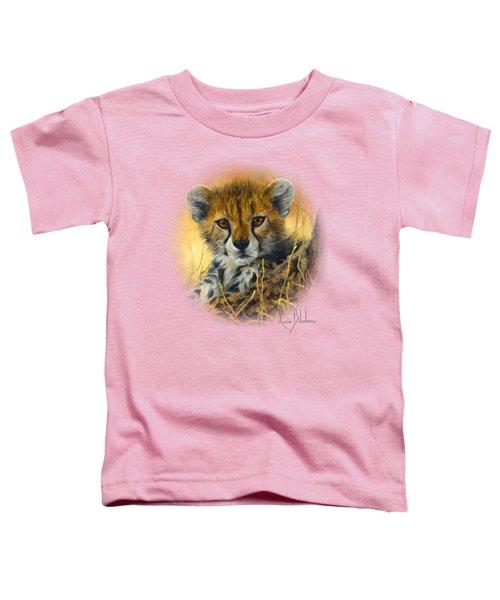 Baby Cheetah  Toddler T-Shirt