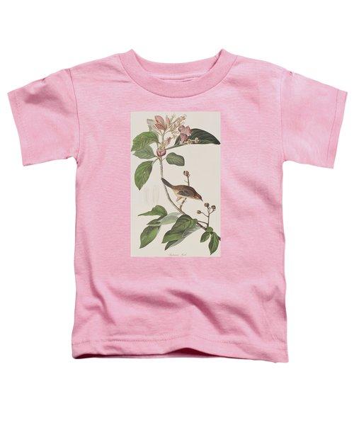 Bachmans Sparrow Toddler T-Shirt by John James Audubon