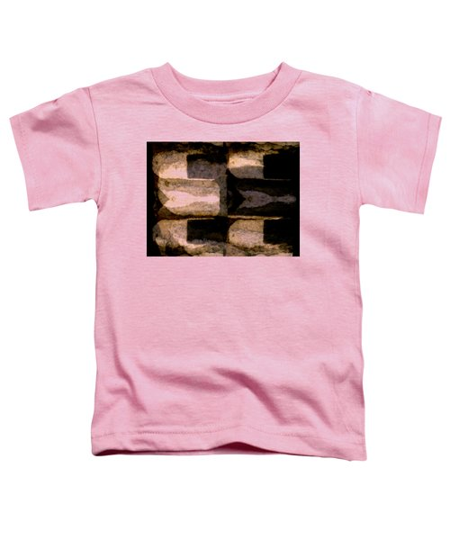 Colour Choice Stone Abstract Toddler T-Shirt