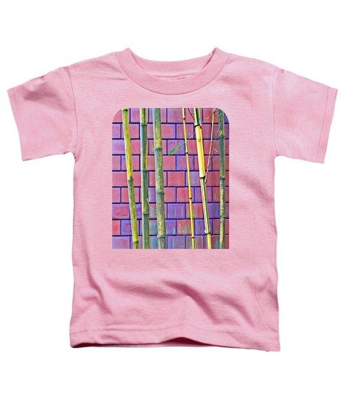 Bamboo And Brick Toddler T-Shirt