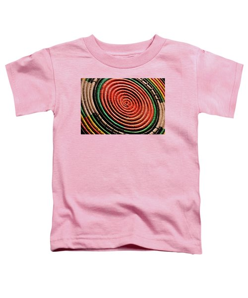 Basketry Color Toddler T-Shirt