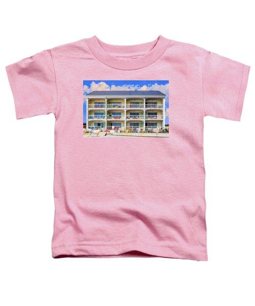Beach Front Hotel Toddler T-Shirt