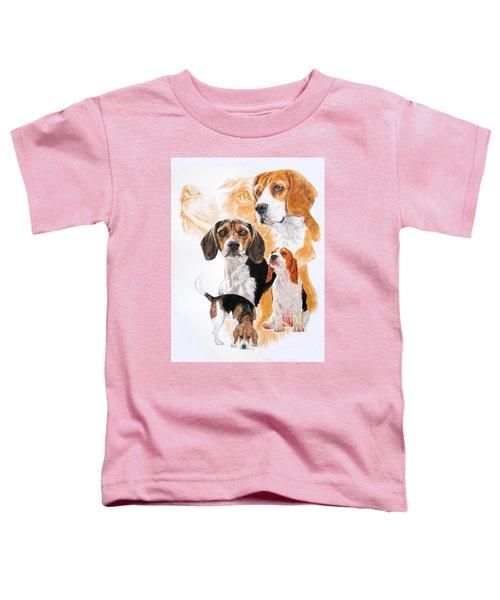 Beagle Hound Medley Toddler T-Shirt