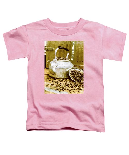 Bean Shop Cafe Toddler T-Shirt