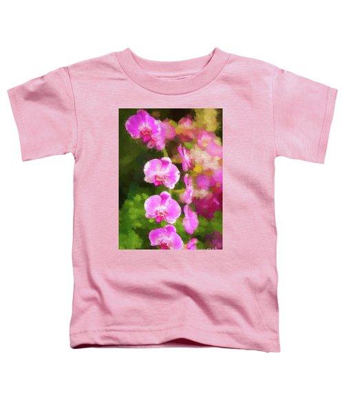 Beautiful Orchids Toddler T-Shirt
