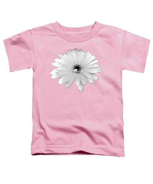 Beautiful White Daisy Flower By Delynn Addams Toddler T-Shirt