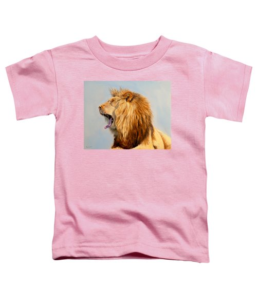 Bed Head - Lion Toddler T-Shirt