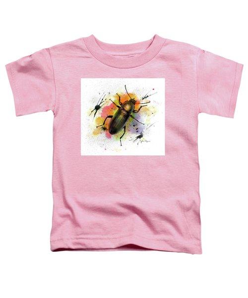 Beetle Illustration Toddler T-Shirt