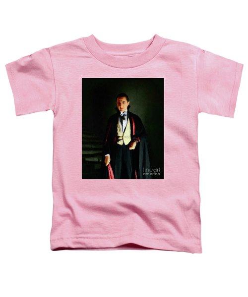 Bela Lugosi As Dracula Toddler T-Shirt