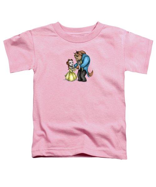 Belle Beast Plush Toddler T-Shirt