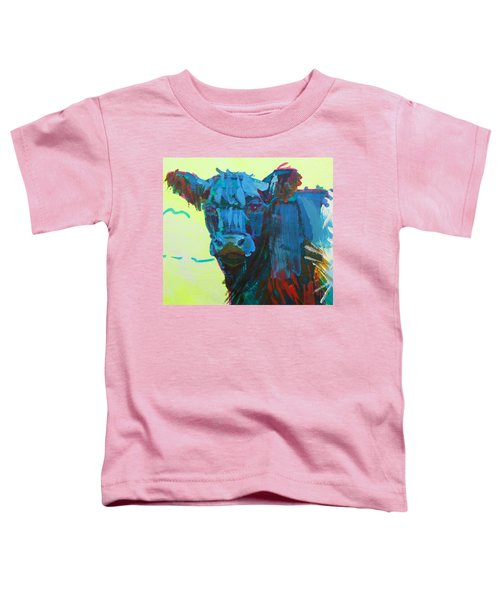 Belted Galloway Cow On Dartmoor Toddler T-Shirt