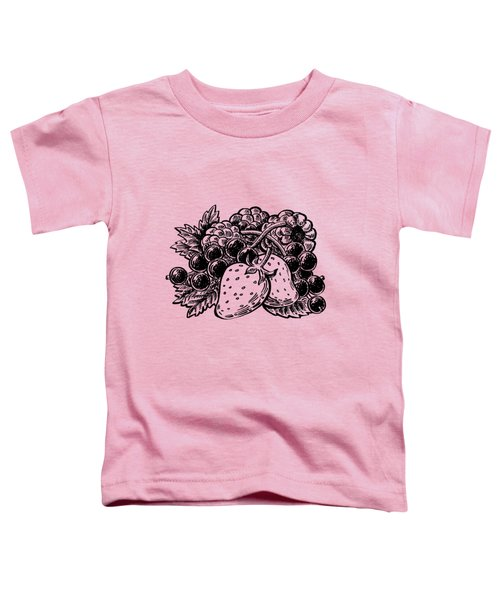Berries From Forest Toddler T-Shirt