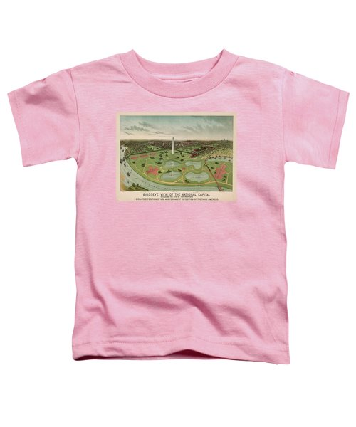 Birdseye View Of The National Capital 1892 Toddler T-Shirt