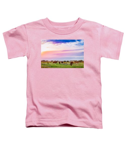 Blazing Sky Diner Toddler T-Shirt