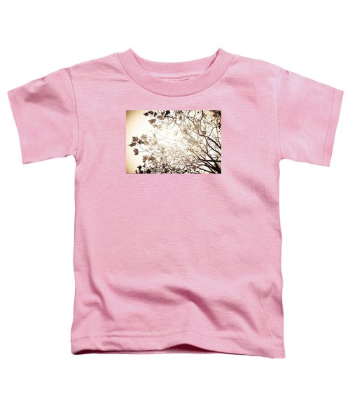 Toddler T-Shirt featuring the photograph Blinding Sun by Lora Lee Chapman