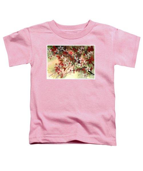 Blooming Magical Gardens IIi Toddler T-Shirt