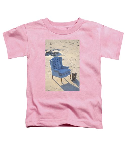 Blue Chair Toddler T-Shirt