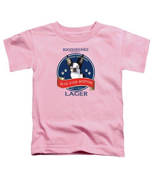 Blue Eyed Boston Lager Toddler T-Shirt