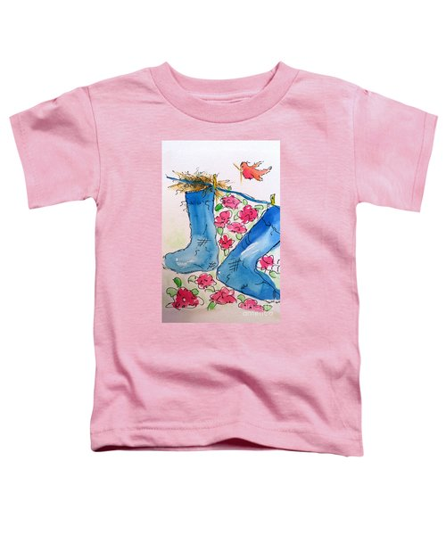 Blue Stockings Toddler T-Shirt