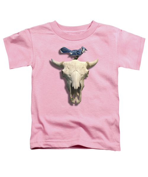 Bluejay And The Buffalo Skull Toddler T-Shirt