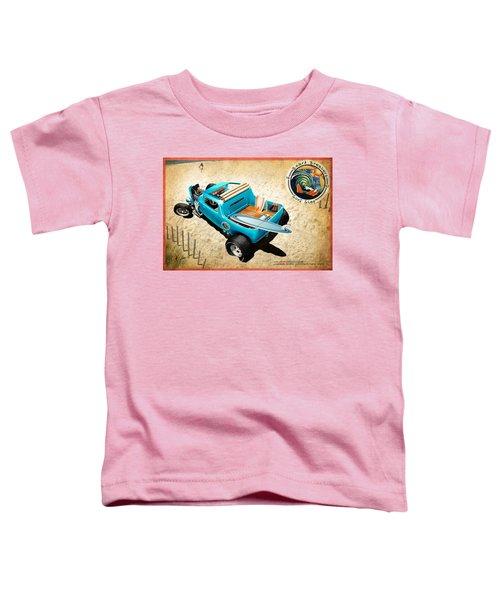 Toddler T-Shirt featuring the digital art Board Breaker by Doug Schramm