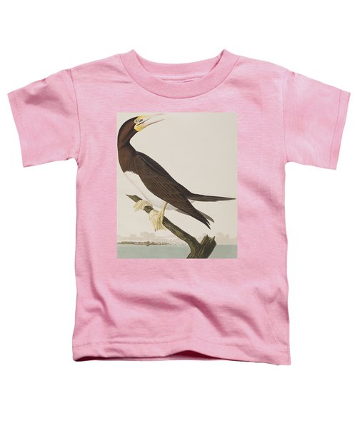 Booby Gannet   Toddler T-Shirt by John James Audubon