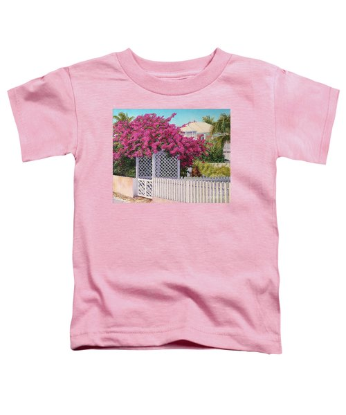 Bougainvillea Crown Toddler T-Shirt