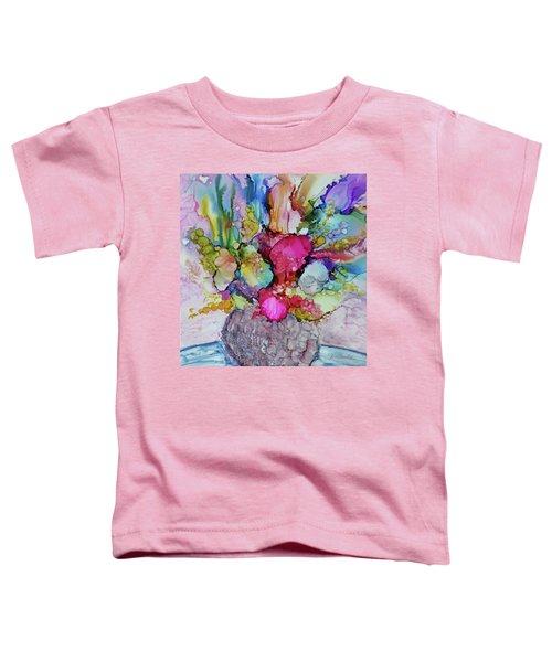 Bouquet In Pastel Toddler T-Shirt