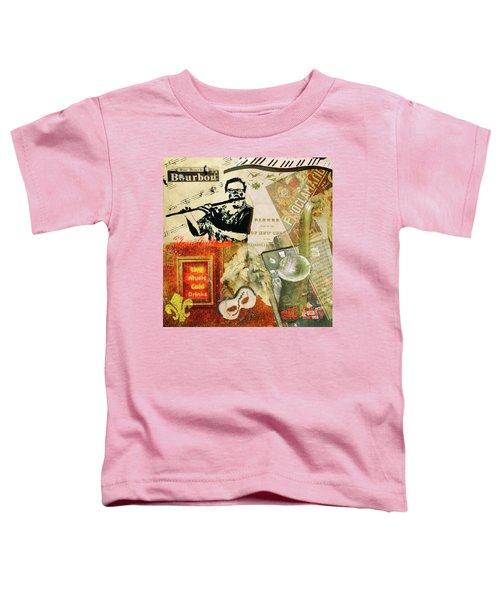 Bourbon Street Collage Toddler T-Shirt