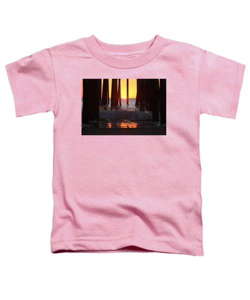 Breaking Dawn At The Pier Toddler T-Shirt