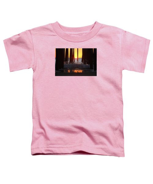 Breaking Dawn At The Pier Toddler T-Shirt