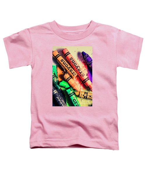 Breaking The Creative Spectrum Toddler T-Shirt