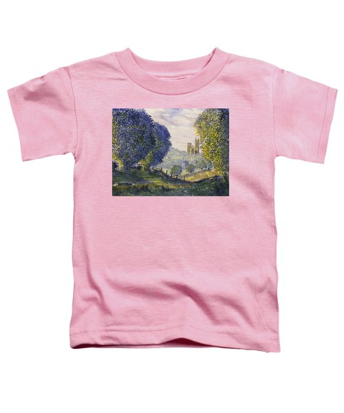 Bridlington Priory From Woldgate On The Hockney Trail Toddler T-Shirt
