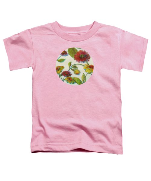 Bright Contemporary Floral  Toddler T-Shirt