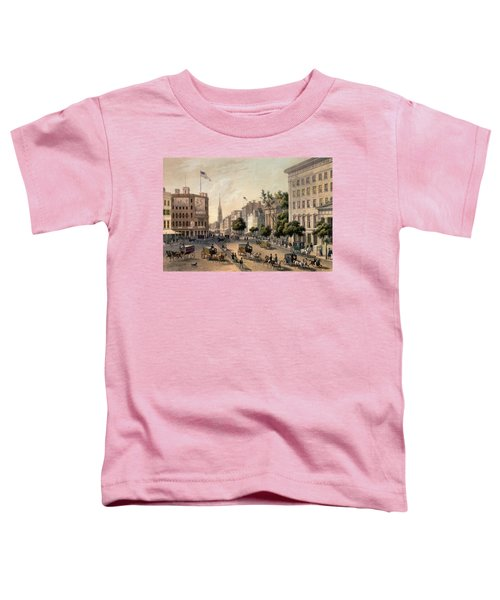 Broadway In The Nineteenth Century Toddler T-Shirt