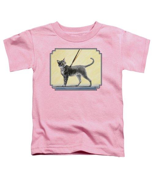Brushing The Cat - No. 2 Toddler T-Shirt