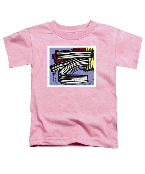 Brushstroke -1965 Toddler T-Shirt