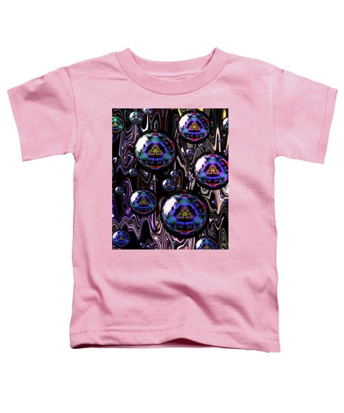 Bubble Abstract 1a Toddler T-Shirt
