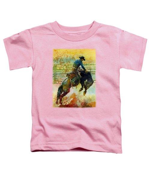Bucking Rhythm Toddler T-Shirt