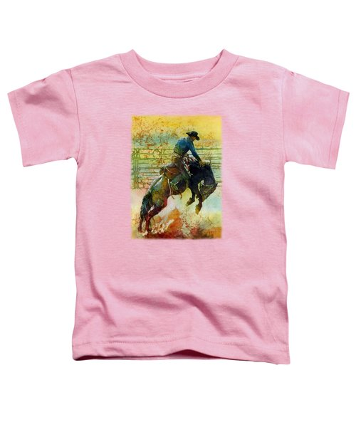 Bucking Rhythm Toddler T-Shirt