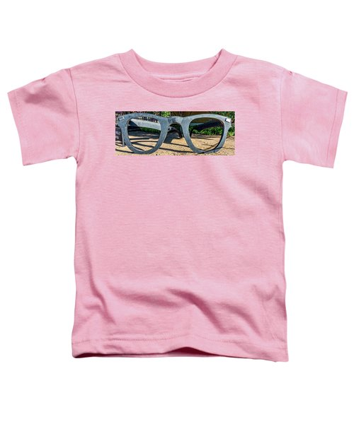 Buddy Holly Glasses Toddler T-Shirt