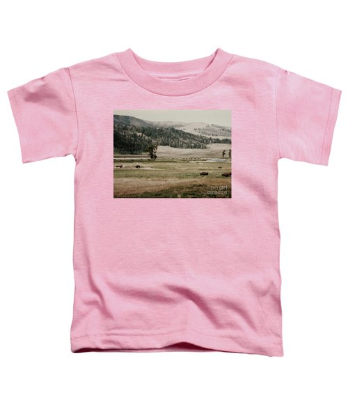 Buffalo Roam Toddler T-Shirt