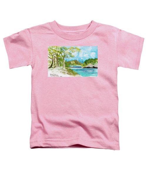 Bugny Trees At Kanumera Bay, Ile Des Pins Toddler T-Shirt