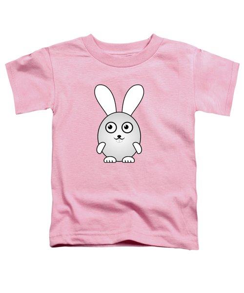 Bunny - Animals - Art For Kids Toddler T-Shirt by Anastasiya Malakhova