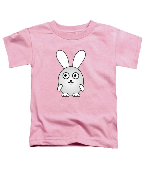 Bunny - Animals - Art For Kids Toddler T-Shirt
