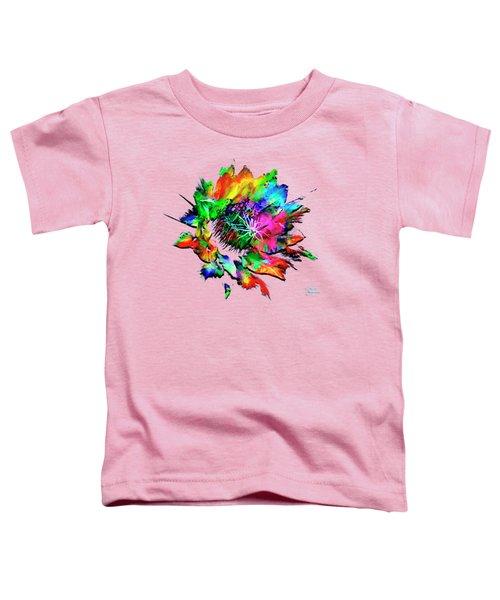 Burst Of Color Toddler T-Shirt