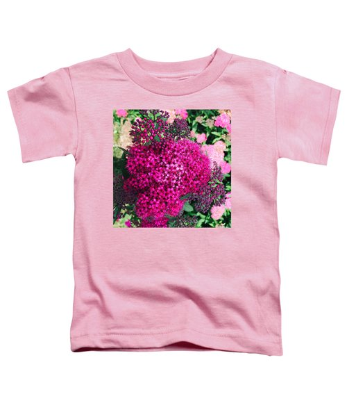 Burst Of Pink Delight Toddler T-Shirt