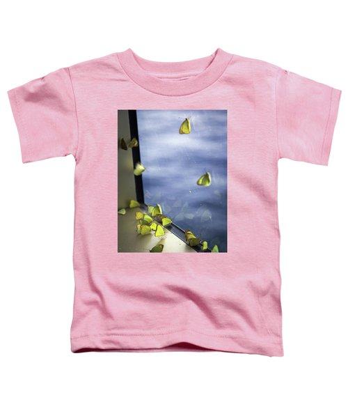 Butterflies At Sea Toddler T-Shirt