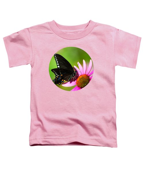 Butterfly In The Sun Toddler T-Shirt by Christina Rollo