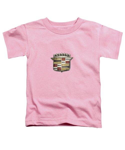 Cadillac Badge Toddler T-Shirt